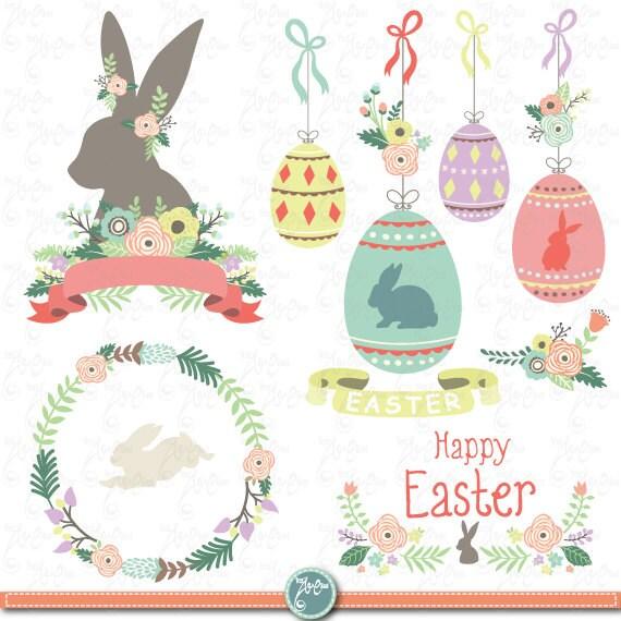 Easter Clip Art EASTER CLIPART SetEaster