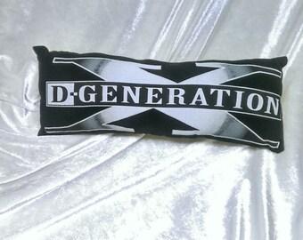 d-generation x  t shirt pillow