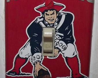 New England Patriots Light Switch Cover Plate - Tom Brady