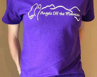 Angels off the Mountain Adult T-Shirt