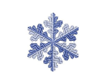 Snowflake - Machine Embroidery Design - Instant Download - three sizes