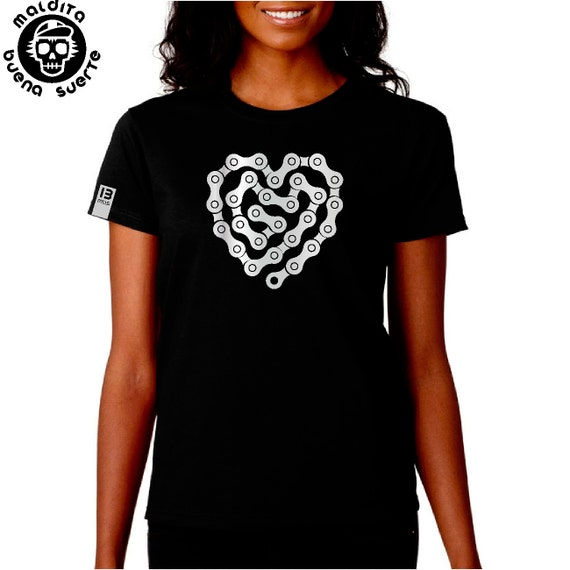 Girl t-shirt MBS chain heart