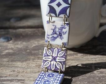 Horse bracelet, Equestrian bracelet, Delft blue bracelet, Horse jewelry, Equestrian jewelry, Delft jewelry, Delft blue jewelry, Blue white