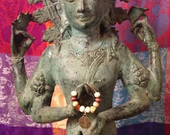 Yoga Yin Yang Wine Glass Charm
