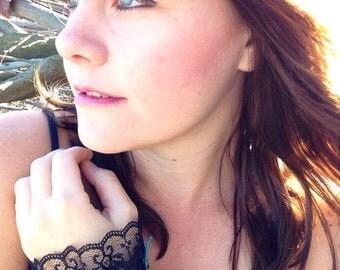 Handmade boho/gypsy/hippie chic wrist cuff