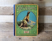1927 antique Chatterbox book for boys - Antique children's book from L.C. Page & Company, Inc. of Boston, MA, USA