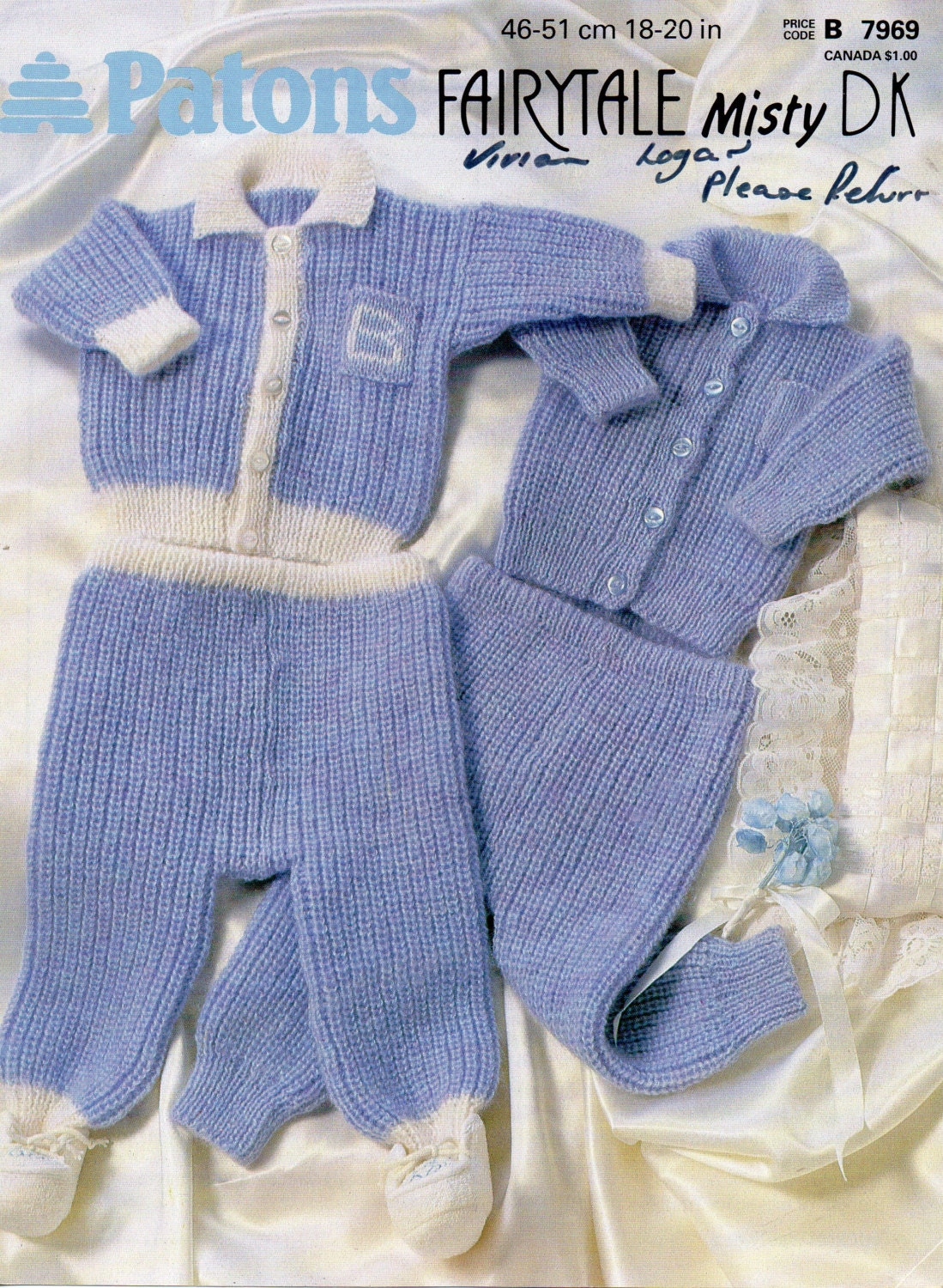 d7cdeffc5 baby jacket with collar   trousers knitting pattern pdf download ...