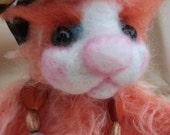 Hattie, 6 inch mohair bear by bedlam bears