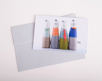 Folded greeting card , Blank Note , card envelope , Birthday Card , photo card , Holiday Card , Card For Kid , blank card , blank stationary