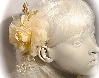 Lace Bridal Hairpiece Vintage Victorian Wedding Accessories Hair Comb B-122