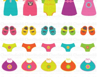 Baby shoes clipart – Etsy