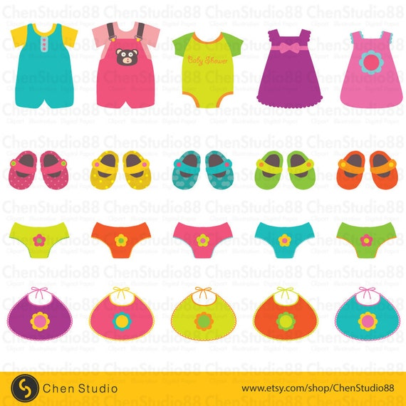 baby clothes clipart free - photo #50