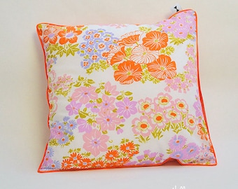 Pillow vintage Capucine - Upcycled 1960
