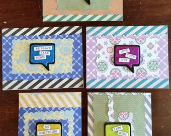"Set of Five ""Thinking of You"" Cards"