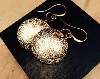 14kt gold filled earrings,elegant