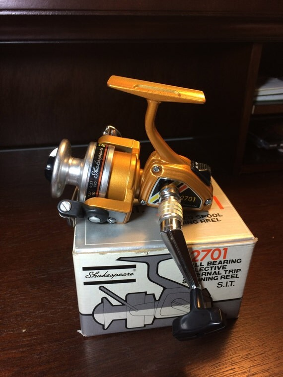 fishing reel new in box shakespeare 2701 spinning reel, Reel Combo