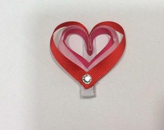 Valentine's Heart Clip