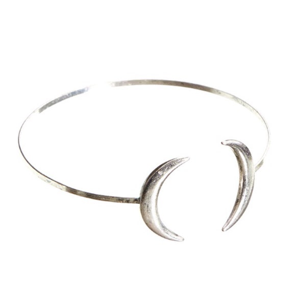 The Best Of Etsy - Mystic Double Moon Bangle