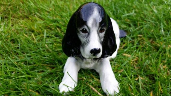 Black And White Sylvac Dog