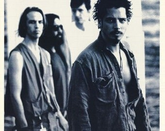 Soundgarden The Day I Tried To Live  Rare Vintage Poster