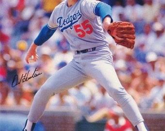 Orel Hersciser Los Angel Dodgers 1992 Rare Vintage Poster