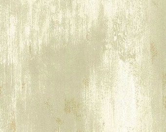 Cream and Sage Weathered Faux Wallpaper FP2739 - Sold by the Yard