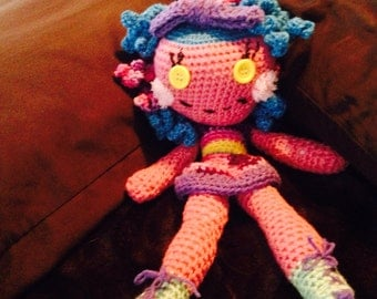 Loopsy crocheted doll