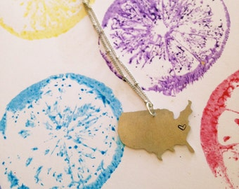 Home Is... Necklace //