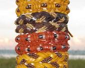 24 Leather Friendship Bracelets