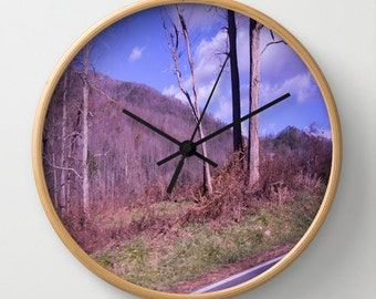 Decorative Wall Clock Surreal Nature