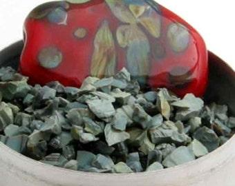 Blue Chalcedony coe 96 Glass Frit 1 OZ  Gaffer G-1095 K-2