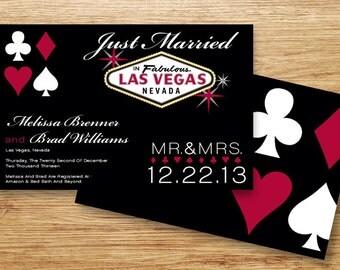 Las Vegas Invite Etsy