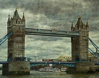London - Tower Bridge; Fine Art Photography - London, Tower Bridge, England, London Photography, Thames, certificate of authenticity