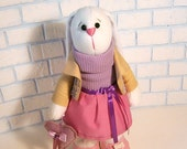 Bunny Hare doll rabbit soft plush Large toy girl kids gifts Toys Stuffed bunny Easter toy home decor Nursery ornament doll