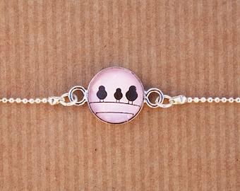 "Bracelet ""Three Birds"""