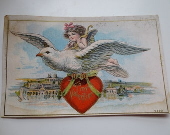 FREE SHIPPING To My Valentine Post Card