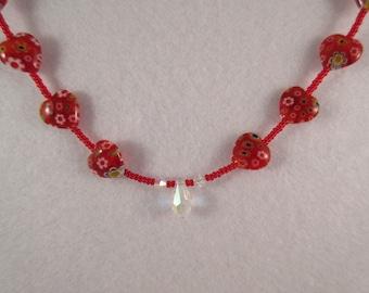 Millifiori Heart Necklace