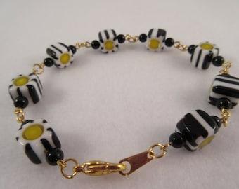 Millifiori Cubes Bracelet