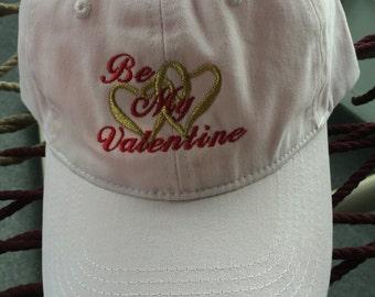 Be My Valentine Cap - Pink