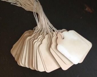 Tea Soaked Tags-handmade