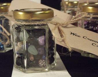 Assorted Recycled Bead Jars