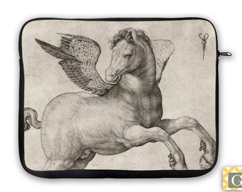 Winged Horse Equestrian, iPad Case, Laptop Bag, Laptop Sleeve, Laptop Case, iPad Sleeve, MacBook Case, Tablet Case - Pegasus
