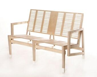 Kesselhaus plywood sofa