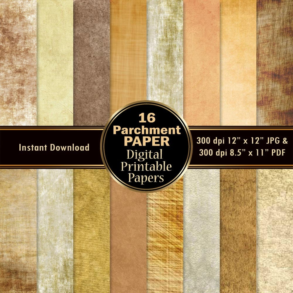 It's just a photo of Peaceful Parchment Paper Printable