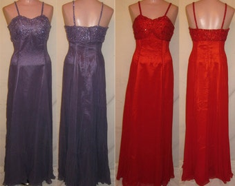Lavender or Red long gown #9591
