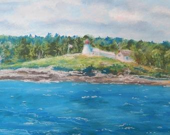 Print of Maine Lighthouse