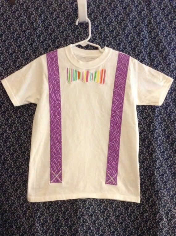 Infant/Toddler/Boys Bow Tie appliqué t-shirt