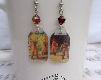Dragonball Z Earrings