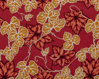 Twiny ivy, red - Fat Quarter