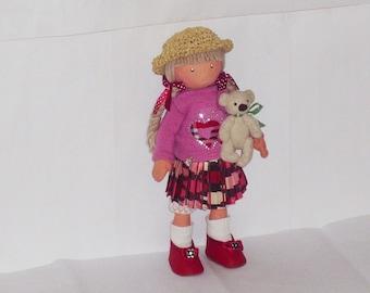 POLLY doll handmade